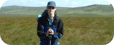 Me on Dartmoor, Summer '05