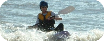 Me kayaking, Summer '05